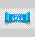 sale ribbon icon discount sold sticker label on vector image vector image