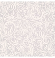 Seamless floral lightgrey background vector | Price: 1 Credit (USD $1)