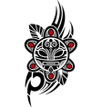 taino sun tribal vector image