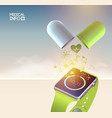 technologic abstract concept vector image vector image
