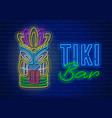 Tiki bar neon signboard
