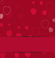 valentine card1 vector image vector image