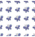 beautiful butterfly seamless pattern vector image vector image