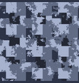 camouflage jeans background denim seamless vector image