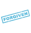 Forgiven Rubber Stamp vector image vector image