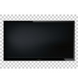 tv modern blank screen lcd led on isolate vector image