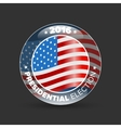 United States Election Vote Badge vector image vector image
