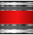 Metallic business background vector image