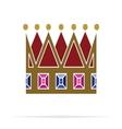 Crown icon3 vector image