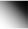 a halftone pattern vector image vector image