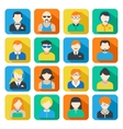 Business Avatar Icons Set vector image vector image