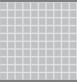 gray square tile texture vector image