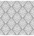 lace floral pattern on gray background vector image vector image