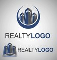 realty logo 8 2 vector image vector image