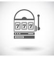 Slot icon vector image