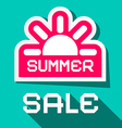 summer sale city vector image