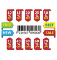 Labels set vector | Price: 1 Credit (USD $1)