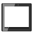 tablet2 vector image vector image