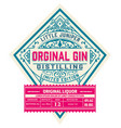 vintage liquor label layered vector image vector image