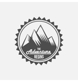 Vintage mountain explorer labels vector image vector image