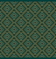 vintage style art deco geometric seamless pattern vector image