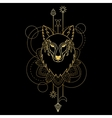 Wolf geometric sign