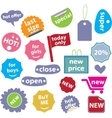 30 web office buttons vector vector image vector image