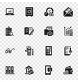accounting international day icon set simple vector image vector image