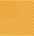 colorful seamless wafer waffle texture set vector image