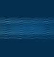 dot pattern abstract modern dark blue line vector image vector image