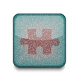 game puzzle icon vector image
