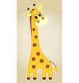 Giraffe application vector image vector image