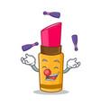 juggling lipstick character cartoon style vector image vector image