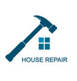 repair symbol for business vector image vector image