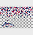 seamless pattern with stars for 4th of july vector image vector image