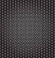 Web gray perforated metal abstract background vector image vector image