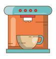 coffee maker machine icon vector image vector image