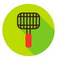 grill grates circle icon vector image vector image