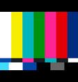 no signal tv vector image