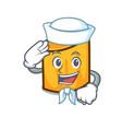 Sailor rigatoni character cartoon style