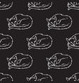 sleeping cats seamless pattern vector image vector image