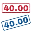 4000 Rubber Stamps vector image vector image