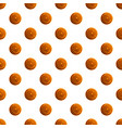 chocolate drawn biscuit pattern seamless vector image vector image