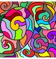 color art composition vector image