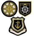 emblem badge vector image