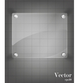 Glass framework set vector image