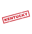 Kentucky Rubber Stamp vector image