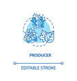 producers concept icon biological food chain