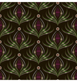 Seamless pattern graphic ornament Floral stylish vector image vector image