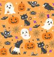 cute halloween pattern